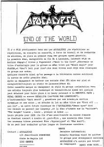 Apocalyptic Noise - Apocalypse