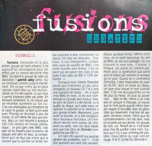 Fusions Megazine